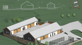 Agriculteral Units, Somerset - Complete in Revit for Stride Treglown