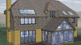 New Build 4 Bedroom House - Orangery